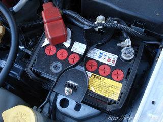 バッテリーを40B19Lへ交換した後